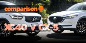Volvo XC40 v Mazda CX-5: Size and value!