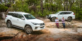2020 Toyota Fortuner vs Mitsubishi Pajero Sport - off-road comparison