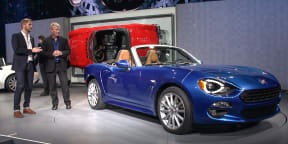 2016 Fiat 124 Design Interview with Felix Kilbertus : 2015 LA Auto Show