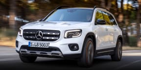 2020 Mercedes-Benz GLB review: first look