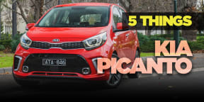 2018 Kia Picanto review: 5 Things