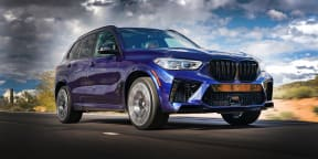 2020 BMW X5 M review