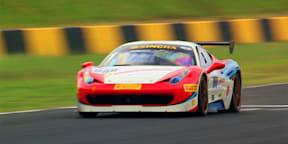 Ferrari 458 Challenge Evoluzione Race Day at Eastern Creek