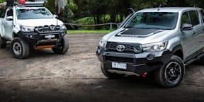 Mod or Not: Toyota Hilux Rugged X v Modded Hilux SR5