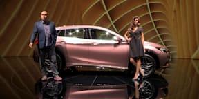 2016 Infiniti Q30 Walkaround : 2015 Frankfurt Motor Show