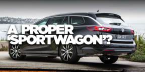 2018 Holden Commodore review: RS Sportwagon 2.0 petrol