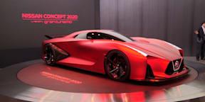 Nissan Concept 2020 Vision Gran Turismo : 2015 Tokyo Motor Show