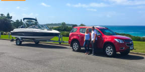 Holden Colorado 7: Boating on Lake Macquarie