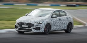 Video: 2021 Hyundai i30 N 8-speed auto prototype test drive