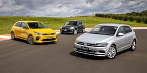 Video: Kia Rio v Suzuki Swift v Volkswagen Polo - Drive Car of the Year 2021 Best City Car