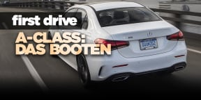 2019 Mercedes-Benz A-Class sedan review: First drive