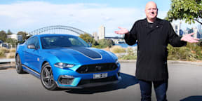 Video: 2021 Ford Mustang Mach 1 launch review
