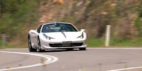 Ferrari 458 Spider Video Review 2014