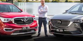2019 Holden Acadia v Mazda CX-9: Family SUV comparison