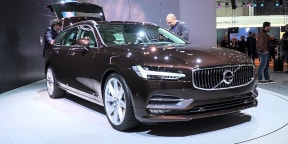 Volvo V90 Wagon : 2016 Geneva Motor Show