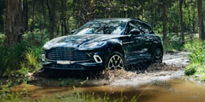 Video: 2021 Aston Martin DBX review: Off-road