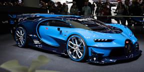 Bugatti Vision Gran Turismo Concept Walkaround : 2015 Frankfurt Motor Show