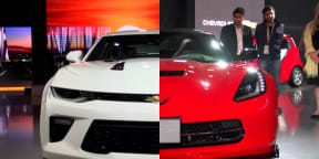 Which Mustang competitor would you prefer: Camaro or Corvette?