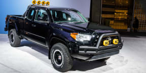 Toyota Tacoma Back to the Future Truck : 2015 LA Auto Show