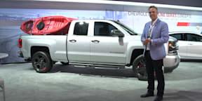 General Motors Stand and Malibu Hybrid Walkaround : 2015 LA Auto Show