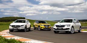 Video: Kia Seltos v Mazda CX-30 v Skoda Kamiq - Drive Car of the Year 2021 Best Small SUV