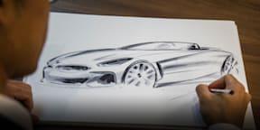 Calvin Luk draws CarAdvice a BMW Z4 | CarAdvice