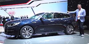 2017 Kia Optima Sportswagon : 2016 Geneva Motor Show