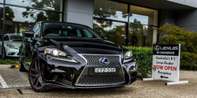 Lexus IS 300h F Sport : Picking up our new long termer