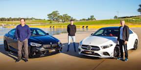 Video: 2020 BMW M235i Gran Coupe v Mercedes-AMG A35 sedan comparison