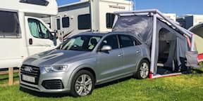 Audi Q3 Camping Tent Demonstration