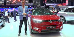 Ssangyong Tivoli and XLV : 2016 Geneva Motor Show