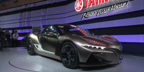 Yamaha Sports Ride Concept : 2015 Tokyo Motor Show