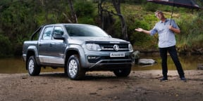 2020 Volkswagen Amarok review: V6 Core manual