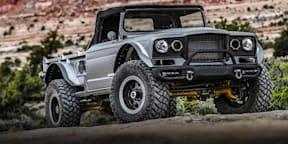 Jeep Five Quarter Concept Drive