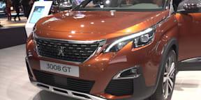 2017 Peugeot 3008 and 5008 SUV - 2016 Paris Motor Show