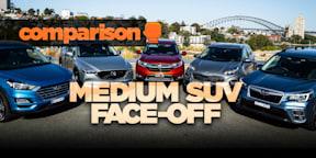 Comparison: Honda CR-V, Hyundai Tucson, Kia Sportage, Mazda CX-5, Subaru Forester