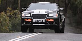 CarAdvice 300 SRT8 racer takes on Targa Adelaide