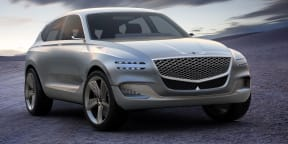 Genesis GV80 concept revealed in New York