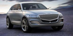 Genesis GV80 concept revealed in New York