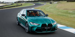 Video: 2021 BMW M3 Competition Review - Track drive at Phillip Island Grand Prix Circuit