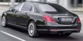Mercedes Maybach S600 First Look : Los Angeles Auto Show