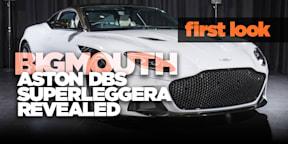 Aston Martin DBS Superleggera: The big(mouth) reveal