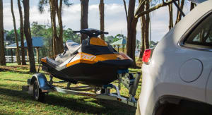Jeep Cherokee Limited and Nissan X-Trail TS: Sea-Doo Spark tow test