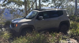 2016 Jeep Renegade Trailhawk: an action-packed day with the Sydney Jeep Club