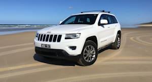 2016 Jeep Grand Cherokee Laredo Review Fraser Island Weekender