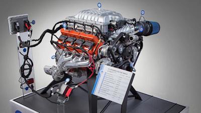 Dodge Hellcat V8, Honda Civic Type R motors now available as