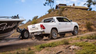 Toyota HiLux, Landcruiser Prado gain diesel particulate