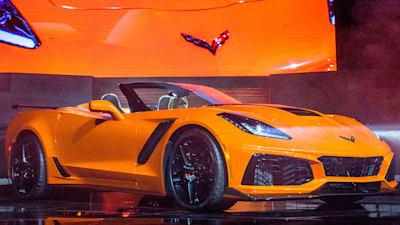 2018 Chevrolet Corvette Zr1 Convertible Unveiled Caradvice