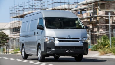 6f5117cf3a Toyota HiAce gets a range of updates