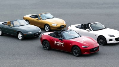 Mazda boss says MX-5 as crucial to Mazda DNA as rotary